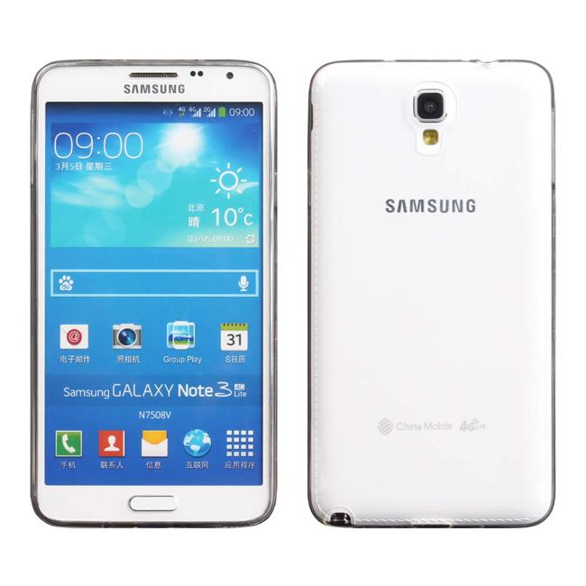 Ultimate- Samsung Note 3 Neo (N7507) 超薄全透點紋軟質手機防摔保護套 保護殼 手機殼