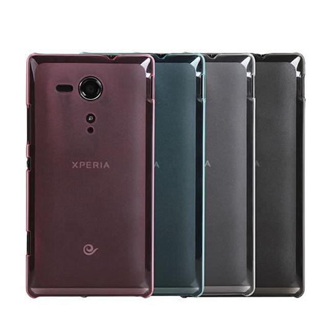 Ultimate- Sony Xperia SP(M35h)簡約超薄羽量硬質手機保護套 防摔保護殼 手機背蓋 手機殼