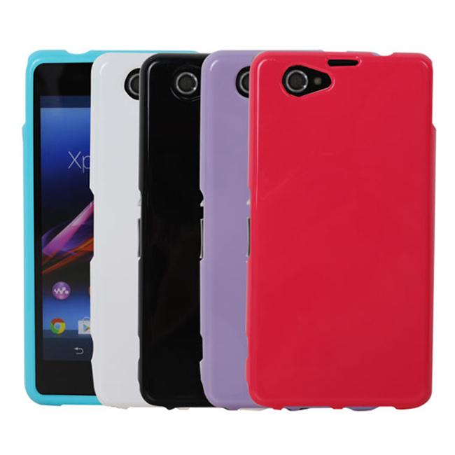 Ultimate- SONY Z1 Compact (M51w) 亮麗全彩軟質保護套 手機背蓋 手機殼 清水套 果凍軟質