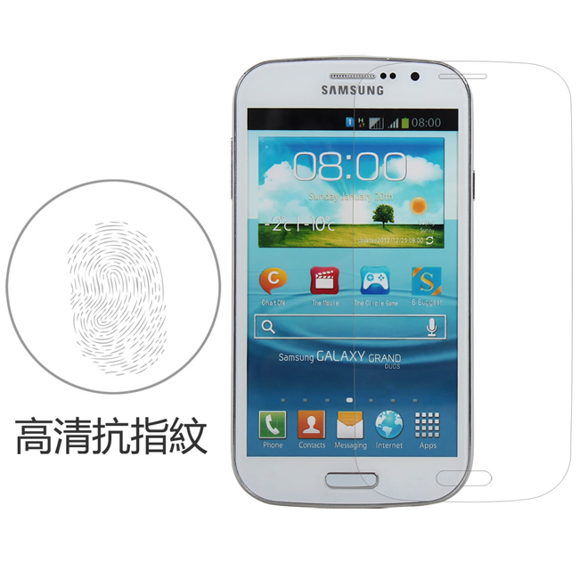 Ultimate- Samsung Core Prime 小奇機高清抗指紋保護貼 防油汙灰塵 超薄螢幕貼膜