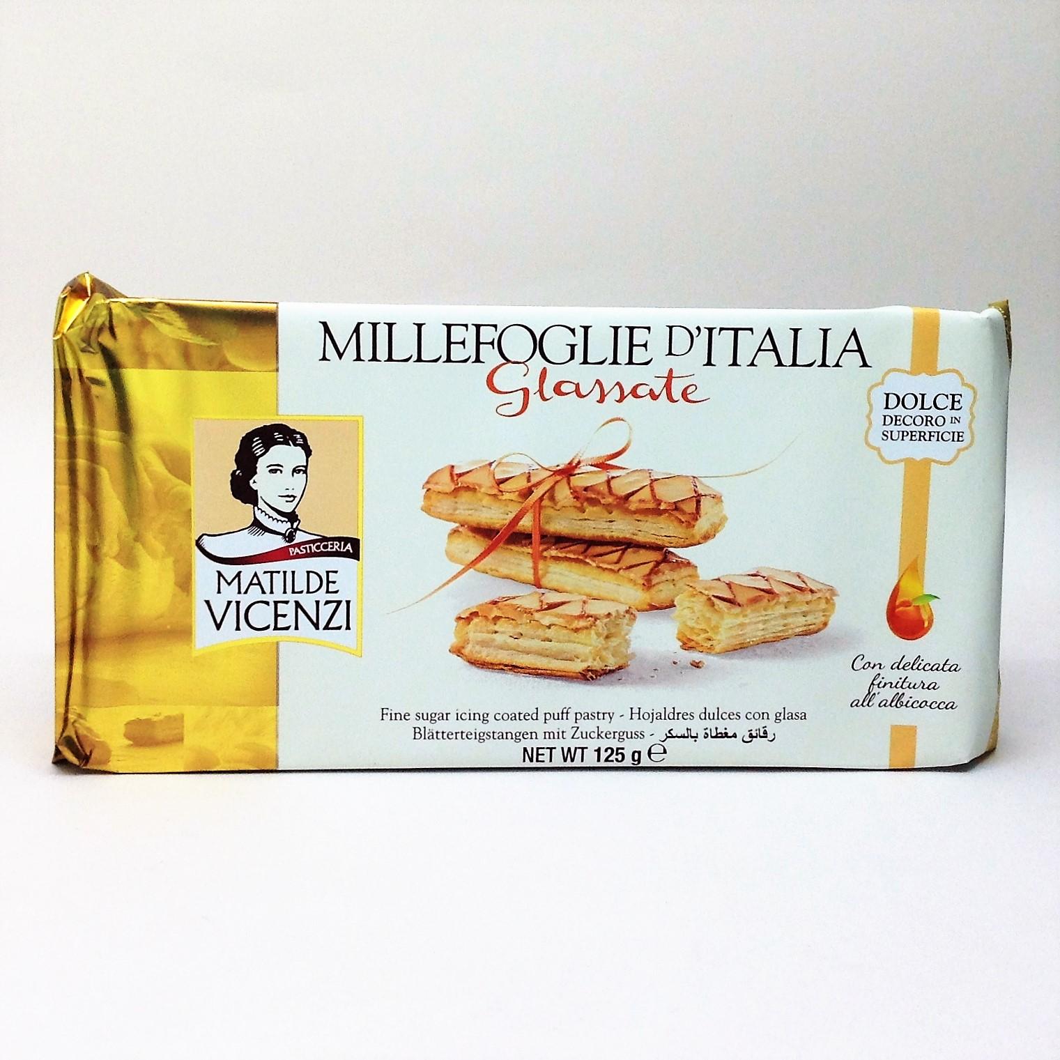 義大利維西尼千層酥-(糖霜)125g