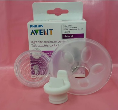 【淘氣寶寶】AVENT【親乳感-電動配件3入組】白色鴨嘴+電動隔膜閥門+矽膠按摩花瓣25mm