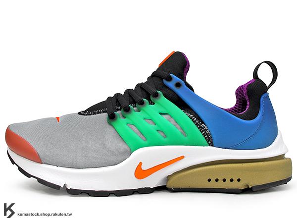 2016 經典鞋款 NSW 重新復刻上市 日本嚴選店舖 BEAMS x NIKE AIR PRESTO QS GREEDY 40TH 鴛鴦 左右腳不同色 (886043-400) !