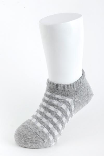 【金‧安德森】兒童格紋踝襪