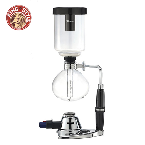 【Tiamo】TCA-3B煮咖啡器 虹吸式咖啡壺 3人份 附瓦斯爐