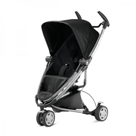【淘氣寶寶】Quinny Zapp Xtra2 嬰兒手推車【銀管支架黑】【保證公司貨●品質有保證●非水貨】