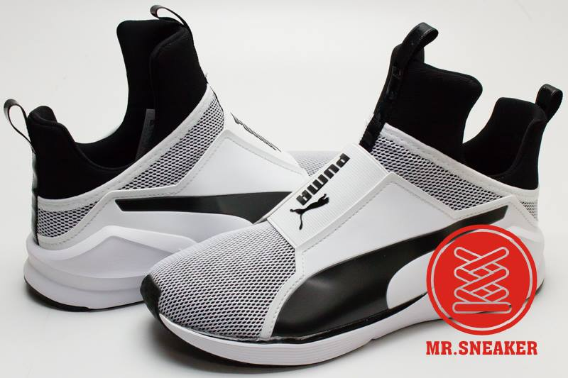 ☆Mr.Sneaker☆ Puma Fierce Core Rihanna RiRi 蕾哈娜 Kylie Jenner 無鞋帶 室內訓練鞋 女款 白色