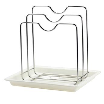 【御膳坊】晶饡電解不銹鋼階梯鍋蓋架