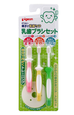 Pigeon貝親 - 乳齒牙刷組