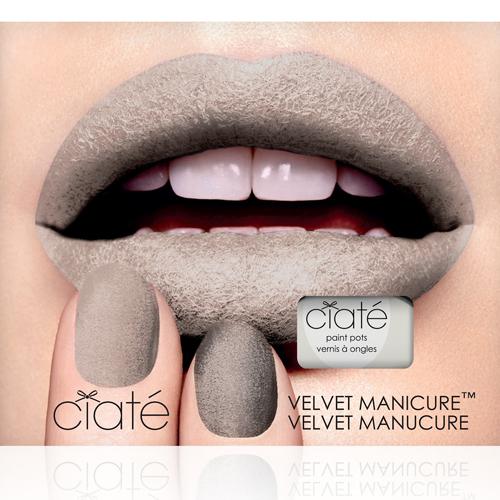 【英國Ciate夏緹】Velvet Manicure Set天鵝絨指甲油組合-Milk Cashmere淺灰絨毛