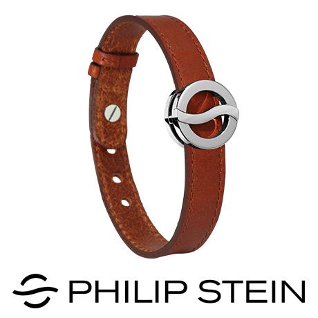 【Philip Stein】翡麗詩丹能量手環-【經典棕】睡眠手環 / 運動手環