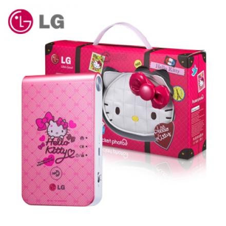 LG Pocket photo 口袋相印機第三代 Hello Kitty PD239SP 粉亮精裝版 0利率 免運