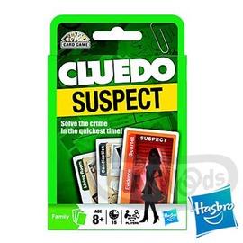 【Playwoods】[MB智樂]妙探尋兇Cluedo卡牌版:疑犯大搜查Suspect中文版-紙牌破案遊戲(地產大亨大富翁-推理桌遊-福爾摩斯)