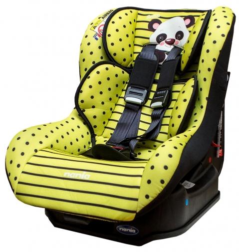 ★衛立兒生活館★NANIA 納尼亞 0-4歲安全汽座-熊貓綠(安全座椅)FB00296