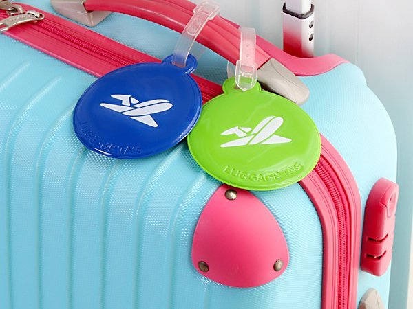 BO雜貨【SV6168】韓國旅行箱行李牌 拉杆箱托運牌箱包吊牌 漆皮造型行李牌 出國旅遊用品