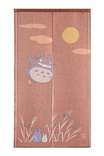 【真愛日本】13090900024 日本製四季門簾秋-全體賞月   龍貓 TOTORO 豆豆龍 居家用品 中門簾 日本帶回