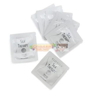 【巴布百貨】絲洛比 BIOSILK 蠶絲蛋白護髮素 隨身包(2ml)