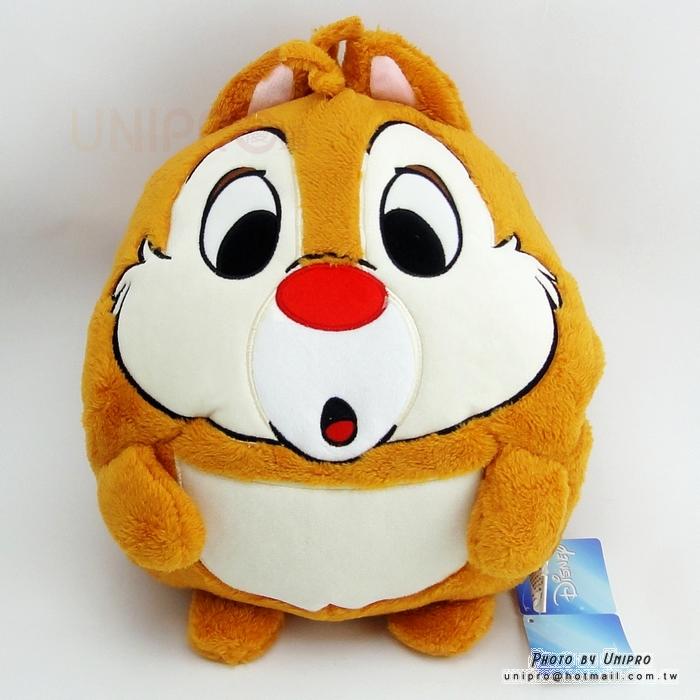【UNIPRO】迪士尼 奇奇蒂蒂 蒂蒂 Q版 暖手枕 保暖枕 造型玩偶 娃娃 抱枕 靠枕 正版授權 DALE