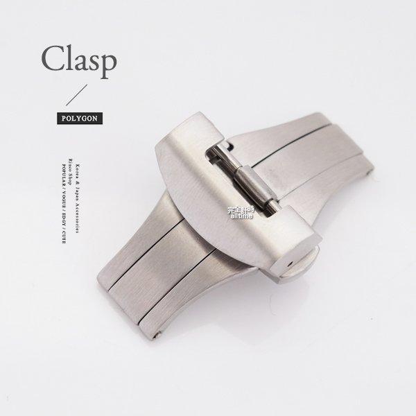 【完全計時】手錶館│Panerai 沛納海款皮帶用 316不鏽鋼 22mm按壓-雙向折疊扣/摺疊扣 小沛用