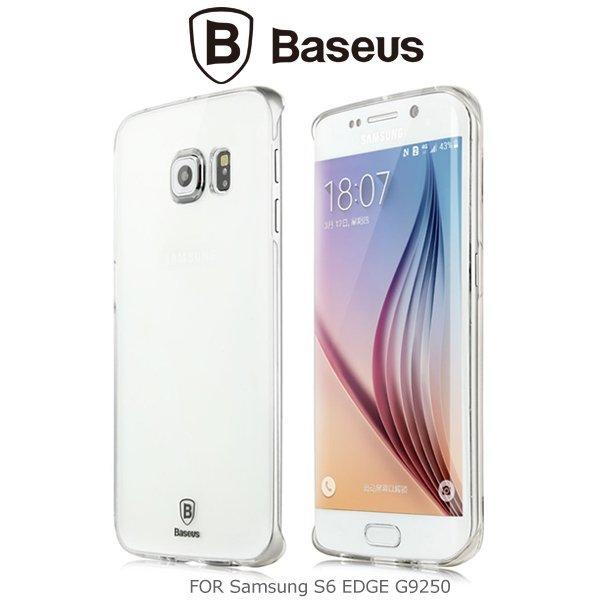 BASEUS 倍思太空殼/SAMSUNG S6 edge/手機殼/手機套/保護殼/硬殼/水晶殼/透明殼【馬尼行動通訊】