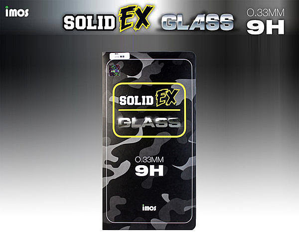 imos 日本旭硝子 SOLID-EX 9H 0.33mm/ASUS ZenFone6/玻璃貼/螢幕保護貼/疏水疏油【馬尼行動通訊】