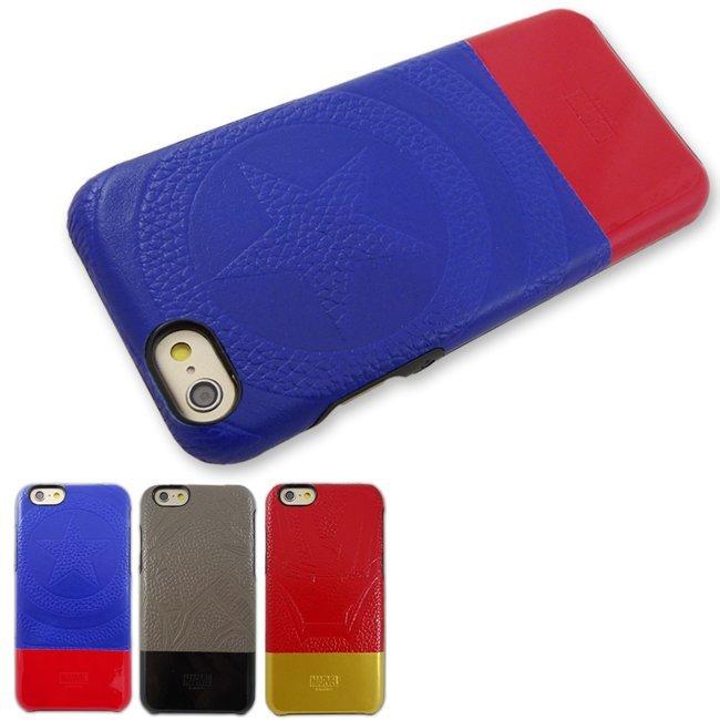 ASBVC MARVEL正版授權復仇者聯盟 限量款皮革保護殼iPhone 6 Plus 5.5吋/手機殼【馬尼行動通訊】