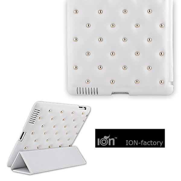 Funky Punky New ipad 3/4 鉚釘皮革沙發平板保護皮套 海外歐美品牌【馬尼行動通訊】