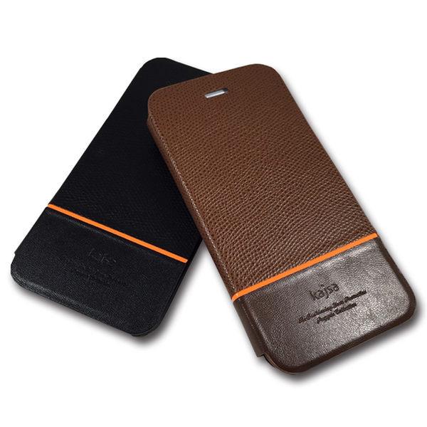 kajsa iphone 6 plus 5.5 尊爵荔枝紋側翻皮套 iphone 6 plus 5.5 【馬尼行動通訊】