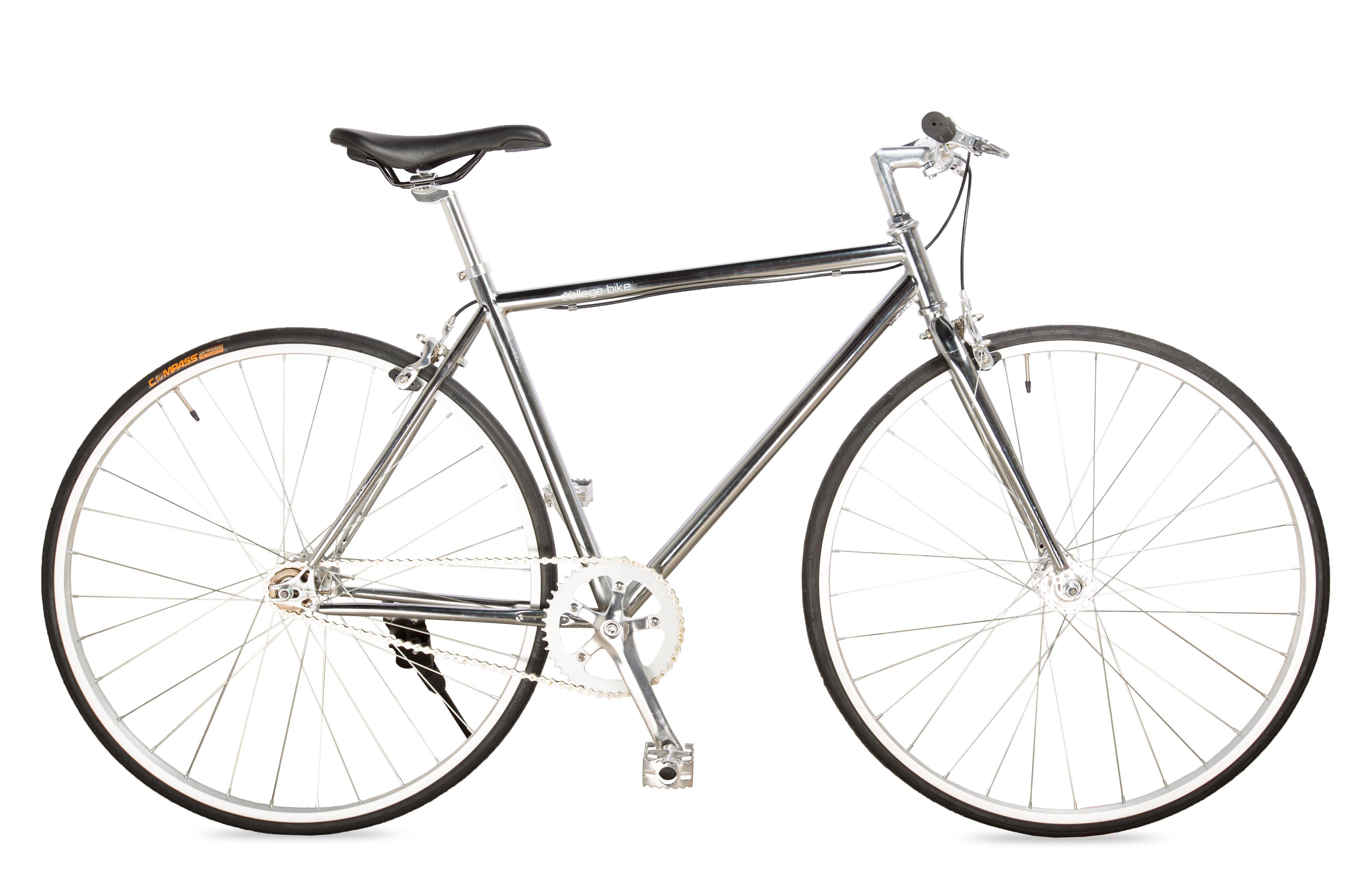 CollegeBike第三季單速車|銀(單車、都市車)