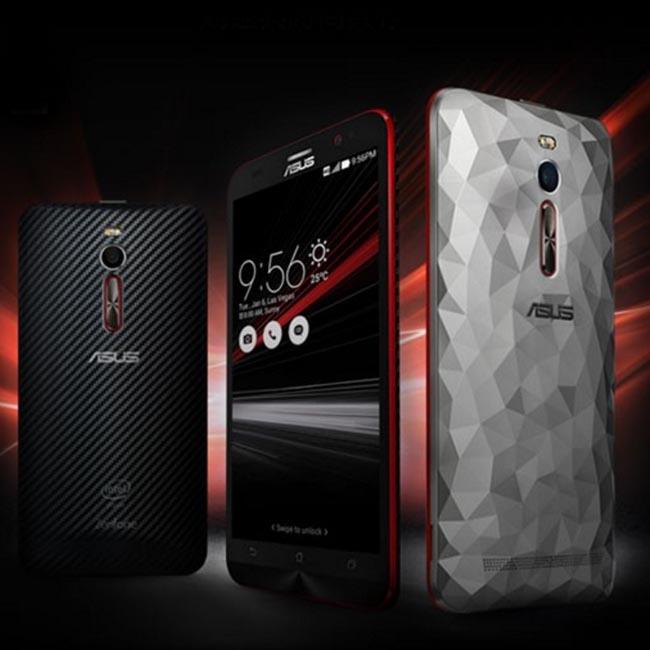 【晶鑽256G限量版】ASUS ZenFone 2 Deluxe(ZE551ML) 5.5吋 FHD 4G LTE 黑色(內送晶鑽水晶背蓋)【特價商品】