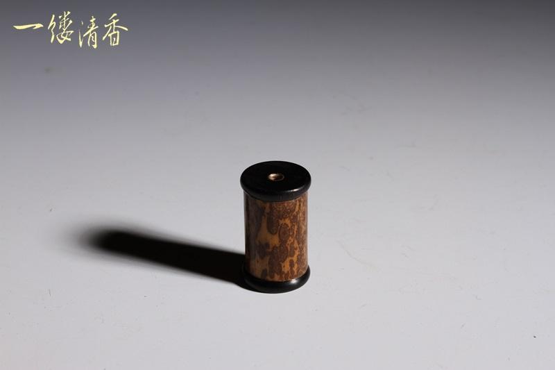 一縷清香 [梅鹿竹鑲黑檀器] 台灣香 沉香 檀香 富山 如意  印尼 越南 紅土 奇楠 大樹茶