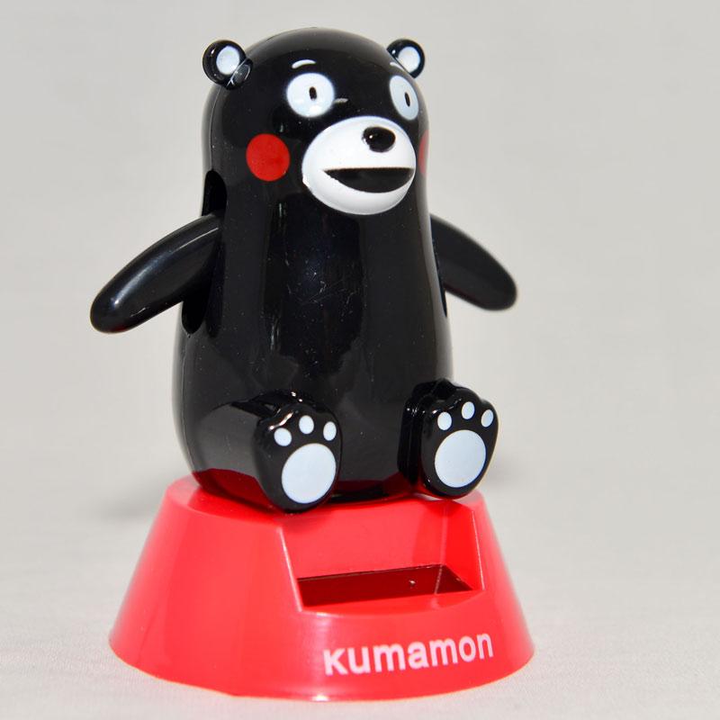 熊本熊 加油! 太陽能揮手娃娃 日本帶回