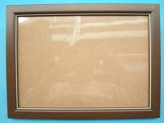 A4證書框 相框 A4獎狀框29.7cm x 21cm(高級原木條.咖啡色)/一個入{促180}