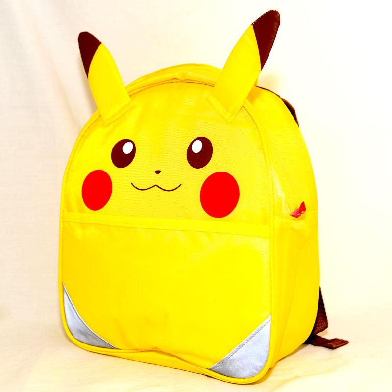 精靈寶可夢GO 皮卡丘 反光立體背包 保冷書包 日本帶回正版商品