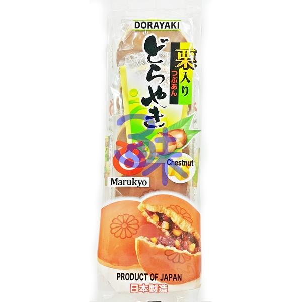 (日本)  丸京5入銅鑼燒-栗子 290 公克 特價 106 元【 4710474801015 】