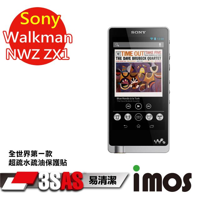 【按讚送好禮+免運】iMOS 索尼 Sony Walkman NWZ-ZX1 3SAS 螢幕保護貼