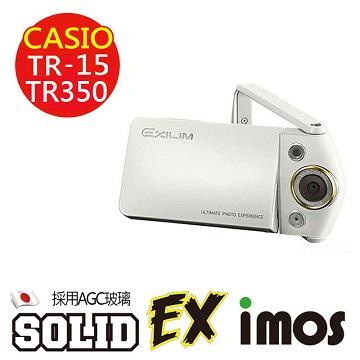 【按讚送好禮+免運】iMOS 卡西歐 Casio TR-15 / TR350 日本 AGC 9H 強化玻璃 螢幕保護貼