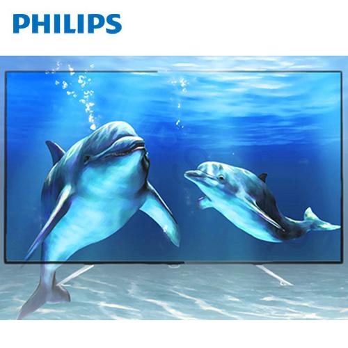 PHILIPS 49吋 IPS 4K 聯網液晶顯示器+視訊盒 49PUH6651