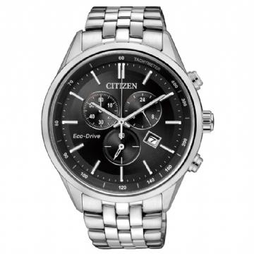 CITIZEN 藍寶石時尚三眼腕錶 AT2140-55E
