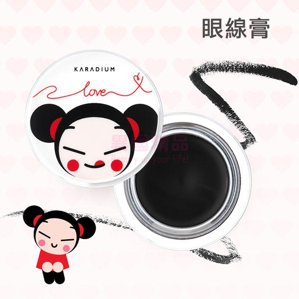 韓國 Karadium X PUCCA 眼線膏 3.5g 中國娃娃聯名限量款【特價】§異國精品§