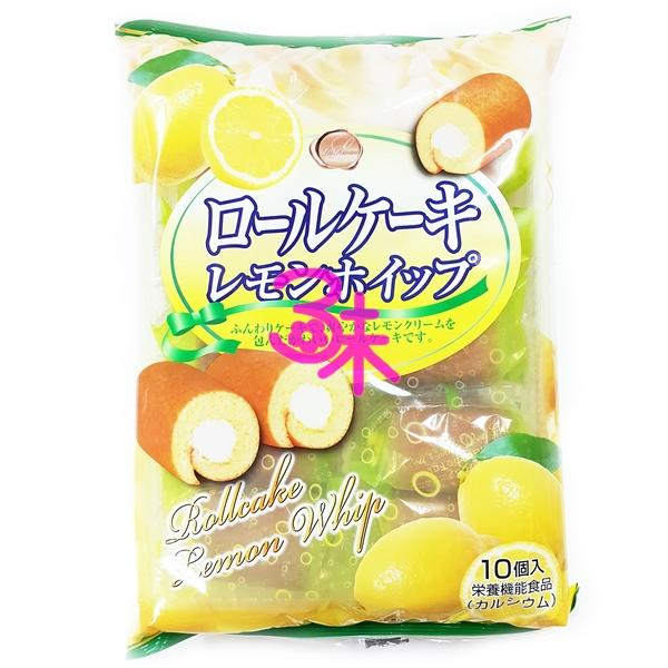 (日本) 山內製菓 檸檬捲心蛋糕 (檸檬蛋糕捲) 1包195公克(10入) 特價 137 元 【4940309102487】