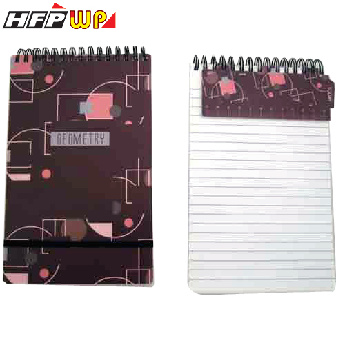 HFPWP 直式筆記本 (大)100張80磅內頁.附索引尺.限量商品 幾何爵士樂 台灣製 GEN58 / 本