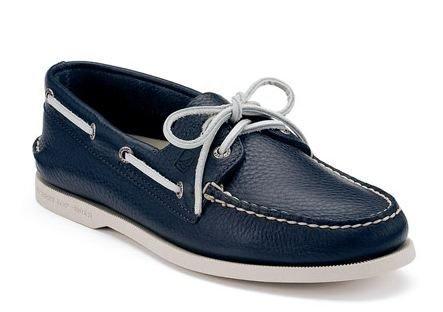 【零碼出清4折,全館免運】SPERRY Men's Boat Shoe 男士帆船鞋 -海軍藍