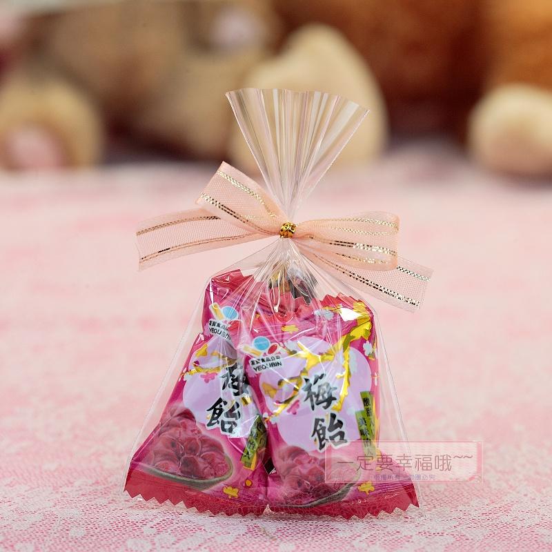 一定要幸福哦~~A05梅飴喜糖 (20份120元)、送客喜糖、手工包裝喜糖