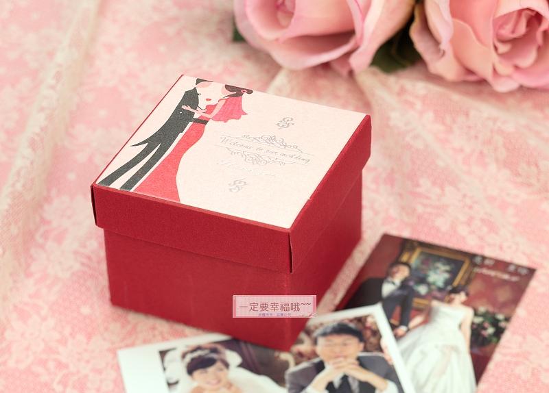 一定要幸福哦~~戀愛物語喜糖盒、紙盒 、婚禮小物、喜糖