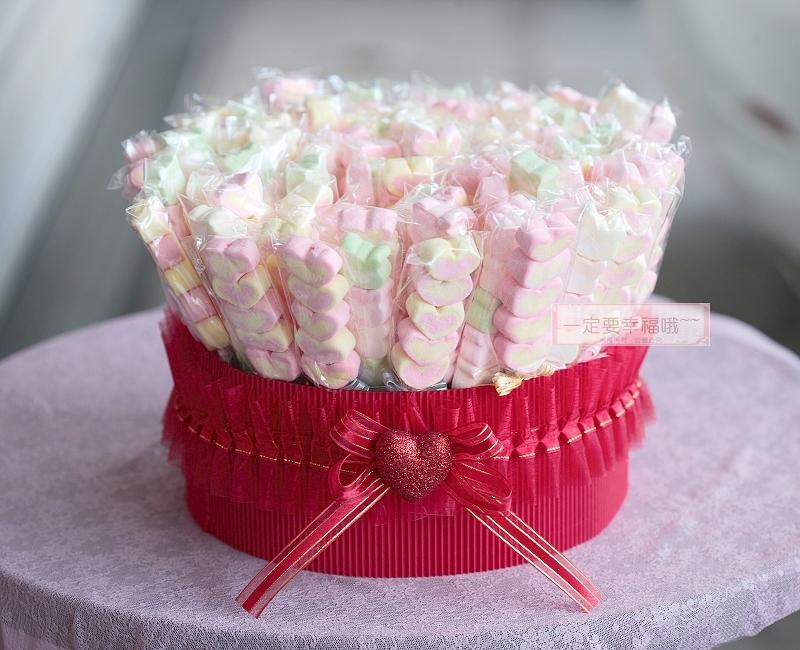 一定要幸福哦~~幸福花園棉花糖1支9元、婚禮小物、結婚宴客、二次進場