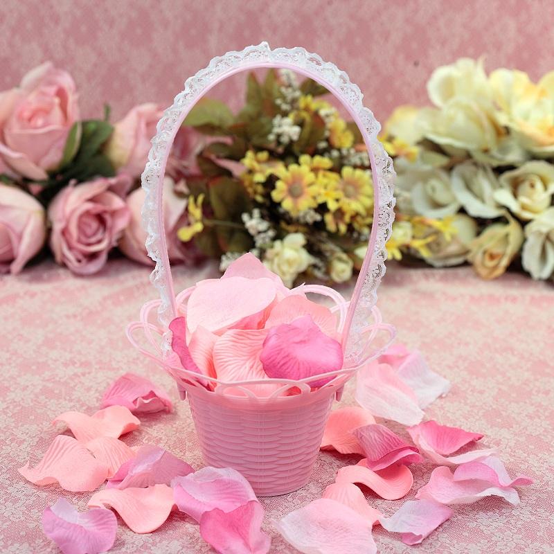 一定要幸福哦~~玫瑰花瓣(粉)~~(1包有144片~)婚禮佈置.新人進場