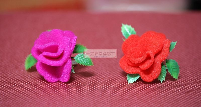 一定要幸福哦~~海棉胸花 、禮儀名條、婚禮小物、婚俗用品 、紅包袋