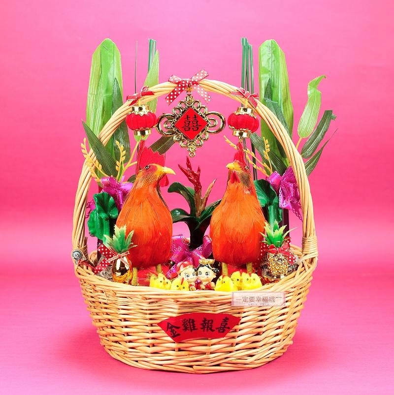 一定要幸福哦~~帶路雞、起家(雞)有雞啼聲~婚禮小物.結婚.歸寧.入厝.婚俗用品.