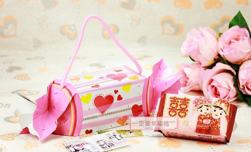 一定要幸福哦~~浪漫甜心喜米禮盒DIY、囍米、婚禮小物、喜糖、喜米、結婚、訂婚、喝茶禮、彌月禮